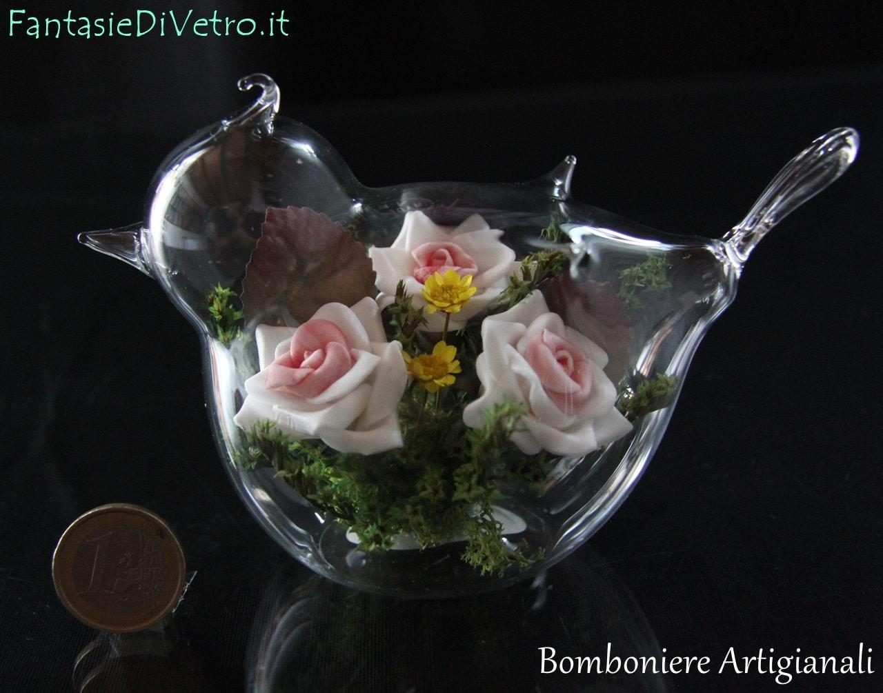 Bomboniere Matrimonio 15 Euro.Uccellino 01 A Bomboniere Per Matrimonio Artigianali Per Nozze